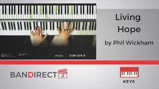 Living Hope by Phil Wickham | Piano Tutorial