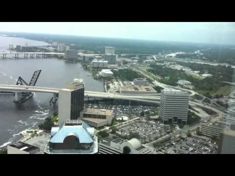 Jacksonville Skyline from 42nd floor of Bank of America Cen