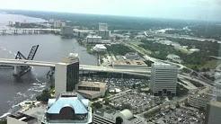 Jacksonville Skyline from 42nd floor of Bank of America Cen