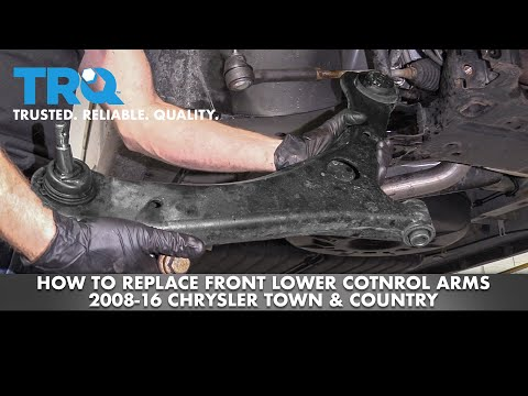 How to Replace Front Control Arms 2008-16 Chrysler Town & Country
