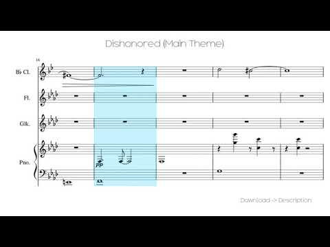 🎶 Dishonored (Main Theme) 🎸🎸