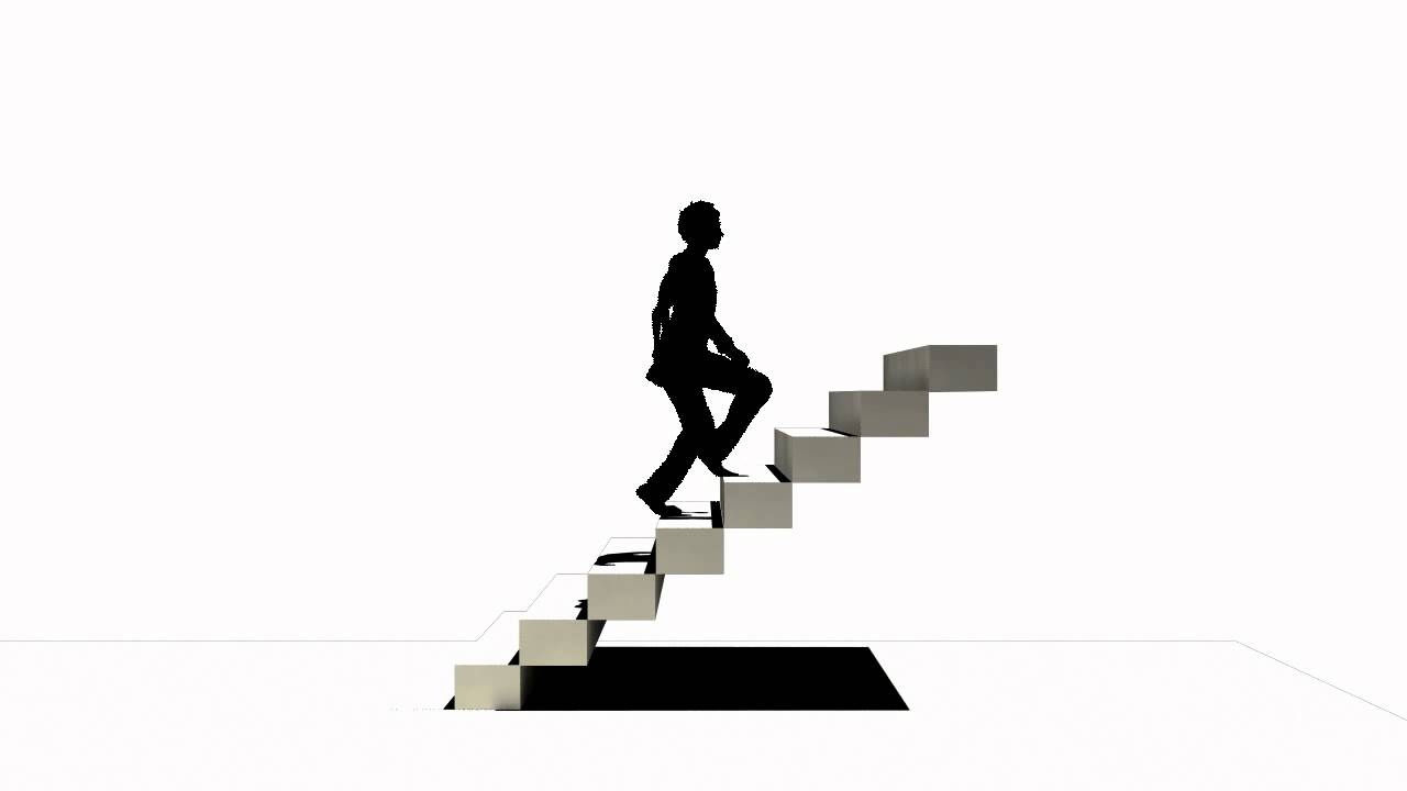 Up Stairs Silhouette - YouTube