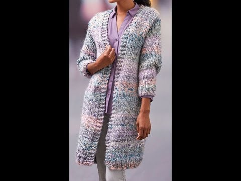 Вязаный Кардиган для Женщин - модели - 2019 / Knitted Cardigan For Women Models
