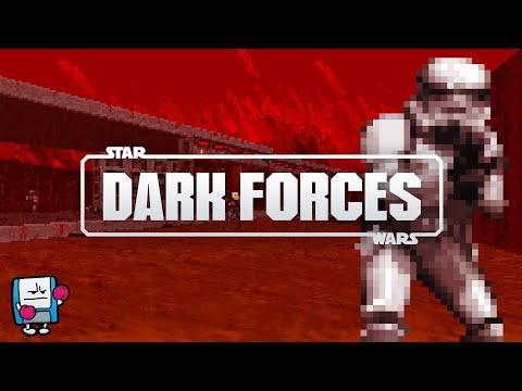 Star Wars Dark Forces DOS PC Game Review | Old Star Wars FPS | Second Wind