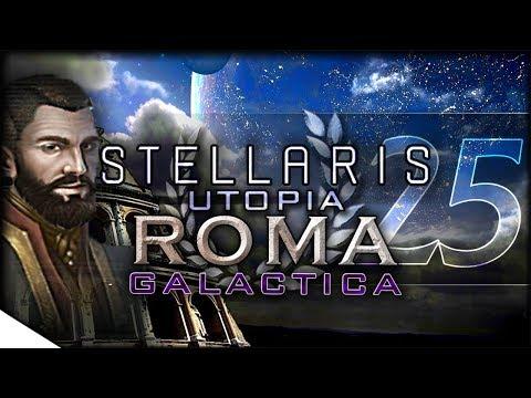Pirates & Gene Mods - Utopia Gameplay | STELLARIS — Roma Galactica 25 | 1.5 Banks Update