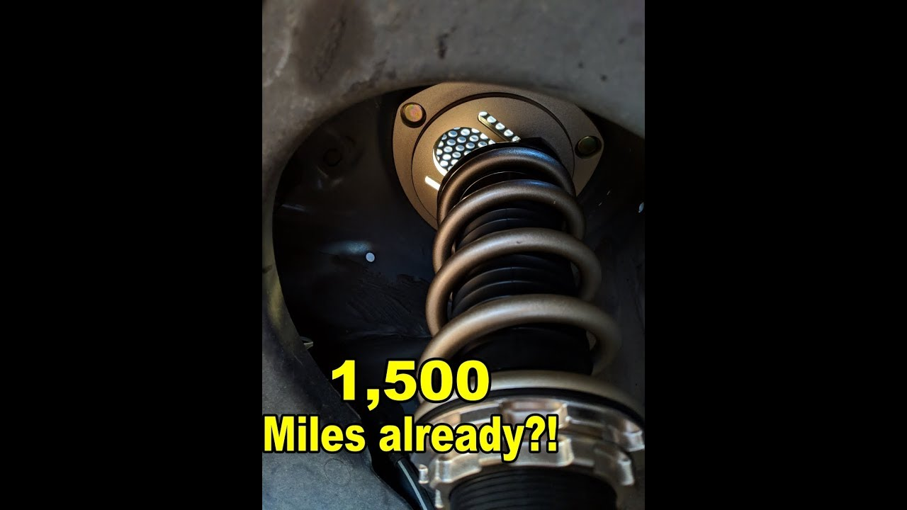 BC Racing Coilover Review - 1,500 Miles | MK7 Golf R