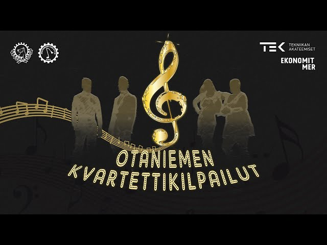 Otaniemen kvartettikilpailut 2020 - Koko video