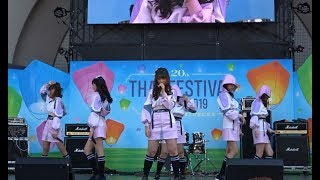 BNK48 タイフェスティバル2019(東京・代々木公園イベント広場)1日目(5月11日)での『BEGINNER』の模様。 Izurina, Music, Jane, Mind, Jaa, Jib.
