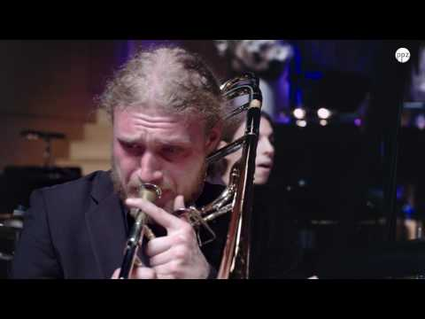 A Time For Love - Ljubljana Academy Of Music Big Band (Awesome Trombone Solo)