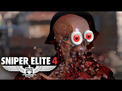 CO-OP NUTSHOT PARTY! -- Let's Play Sniper Elite 4 (Part #1) Multiplayer Co-op  (Mission #1)