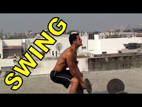 Lose Fat with Dumbbell Swing