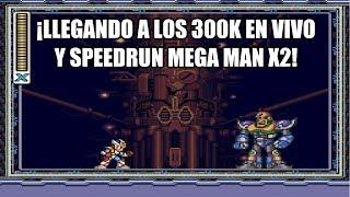 ¡Retro Toro en vivo! - ¡Llegando a los 300k en vivo + Speedrun Mega Man X 2 y dibujos al final!