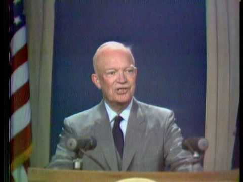 Eisenhower WRC-TV 1958 (oldest known colour videotaping)