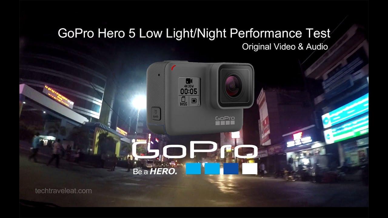 sc 1 st  YouTube & GoPro Hero 5 Black Low Light u0026 Night Performace Test - YouTube azcodes.com