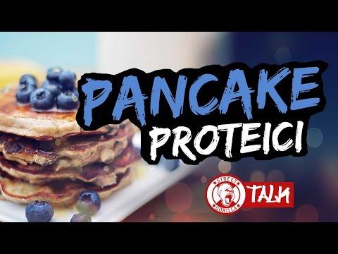 PANCAKE PROTEICI ALBUME e AVENA 😍  RICETTA FITNESS 🍪  colazione dietetica