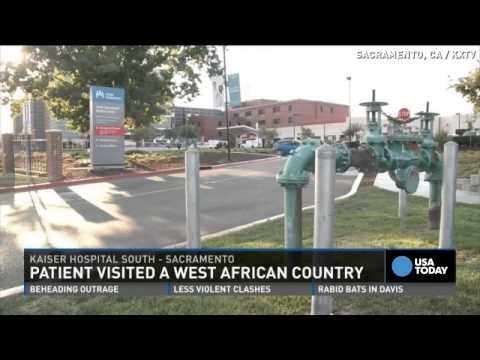 Patient tested for Ebola in CA visited West Africa