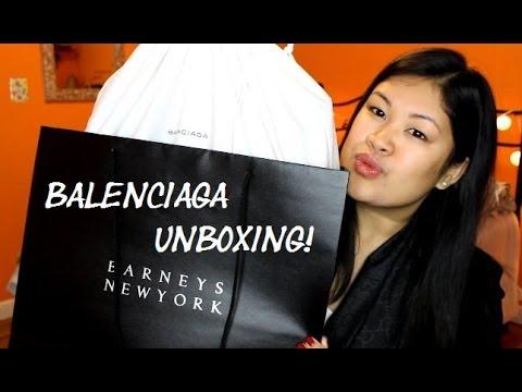 fff16e23201e78 Balenciaga City Bag Unboxing   October 2013 - YouTube