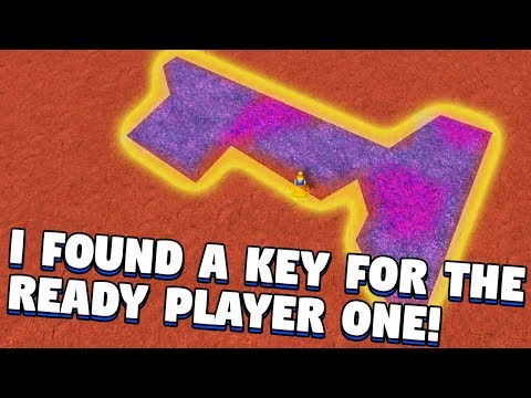 🔴ROBLOX EVENT I FOUND A KEY FOR READY PLAYER ONE!?   Copper Key   (Ready Player One Event)