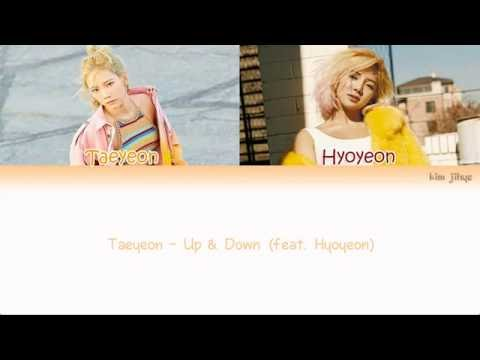 Free Download Taeyeon (태연) – Up & Down (feat. Hyoyeon) Lyrics (han|rom|eng|color Coded) Mp3 dan Mp4