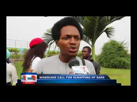 #ENDSARS: more Nigerians call for scrapping of SARS