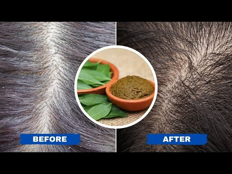 5 Natural Ways To Turn Grey Hair into Black | Healthy Living Tips