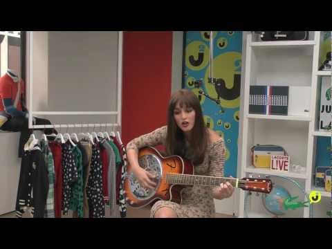Leighton Meester Drops By The Just Jared Studio
