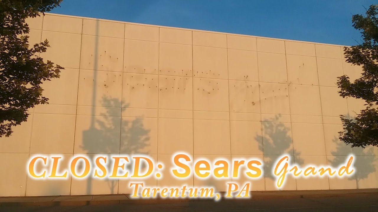 9f18a356209 Grand Cars Found At A Closed Sears Grand!  Abandoned Retail Hunting Part 2