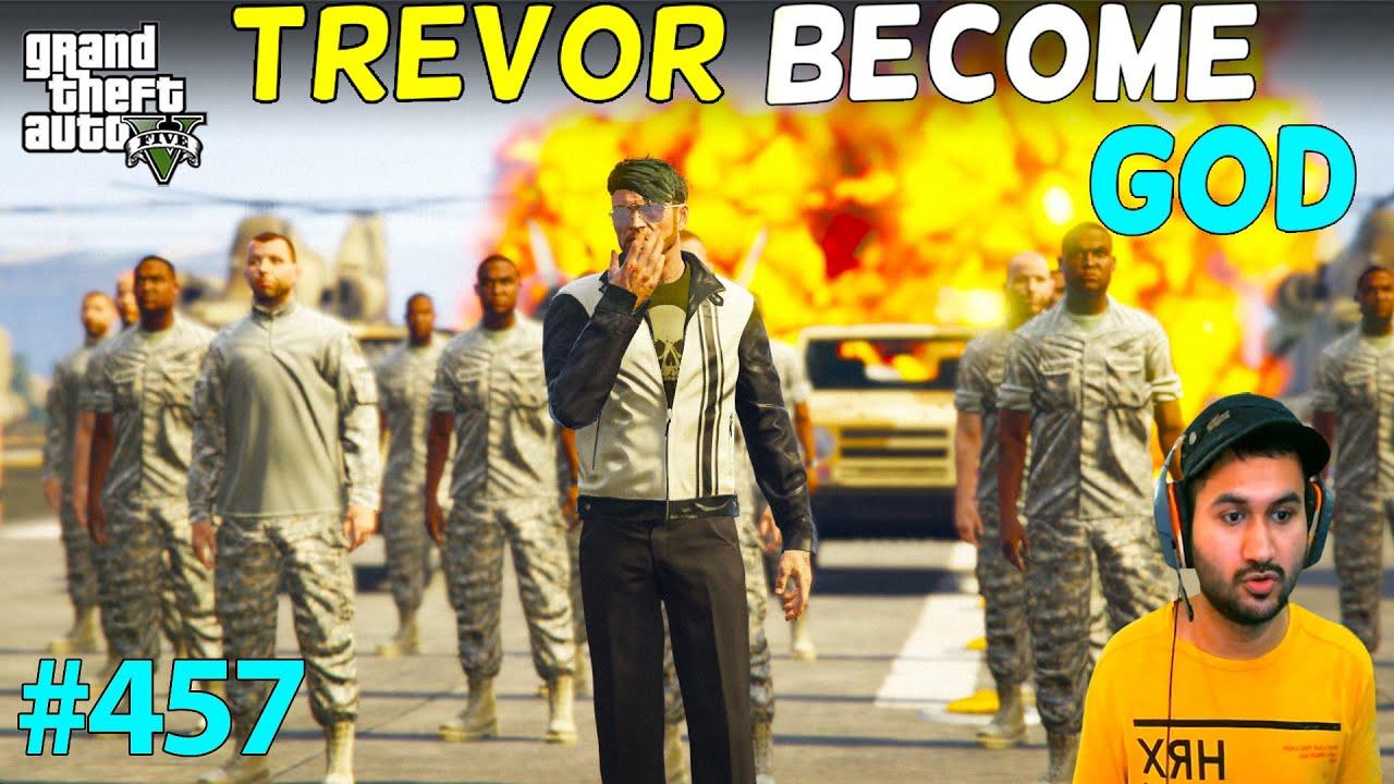 GTA 5 : TREVOR BECOME GOVERNMENT OF LOS SANTOS IN GTA5 | LAST PART | GTA V GAMEPLAY #457