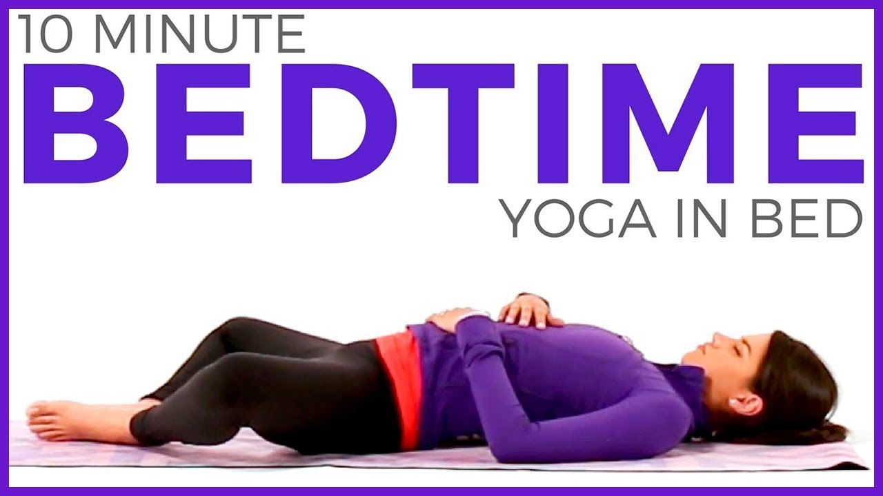 TOP YOGA POSES FOR SLEEP  Bedtime Yoga - YouTube