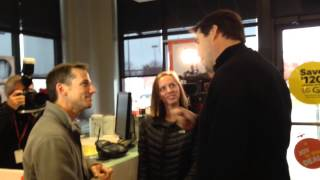 CEO Marcelo Claure visits Sprint Store in Leawood