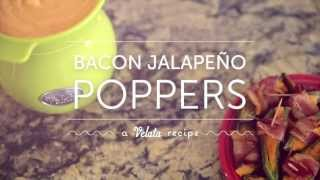 Velata Recipe Of The Month—may 2013 Bacon Jalapeño Poppers