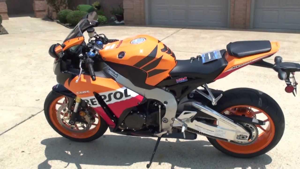 hd video 2013 honda cbr 1000 rr repsol edition orange used new