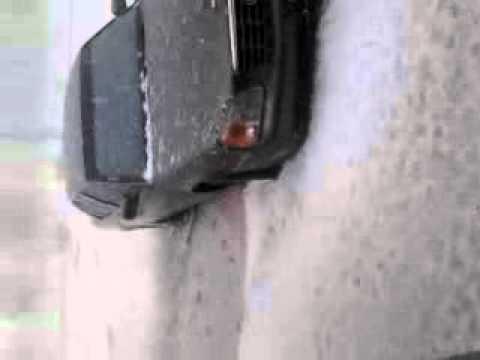 Hail storm in Santa Rosa, New Mexico Route 66 (Video 2)