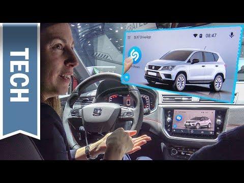 Ausprobiert: Shazam im Seat Infotainmentsystem & Seat DriveApp