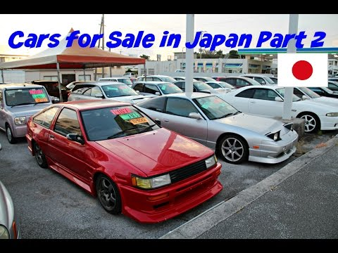 Cars For Sale in Japan Part 2