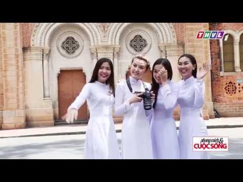 Phong cách & Cuộc sống - Thướt tha tà áo trắng cùng áo dài Thái Tuấn