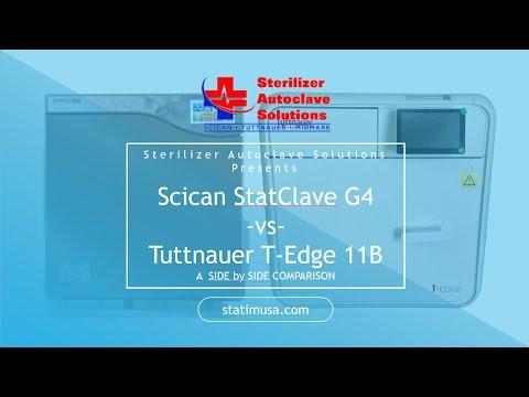 Scican StatClave G4 vs Tuttnauer T-Edge 11B