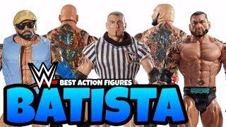 Best BATISTA WWE Action Figures From Mattel