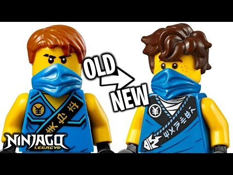 ALL LEGO Ninjago 2020 Legacy Minifigures - OLD vs NEW!