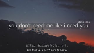 ♫ you dont need me like i need you / korean underground r&b (12 songs)