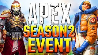 Apex Legends Season 2 Event Leaks! Map Changes Leviathans New Character Teaser