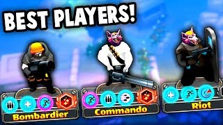 Battling the BEST and MOST OP Players in the Game!  (Guns Up! Multiplayer Gameplay)
