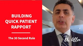 Building Quick Rapport With Your Patients & Others| Dental Practice Management