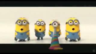 Смешные Миньоны из Гадкий я 2 :Супер приколы 2013 Смотреть Всем