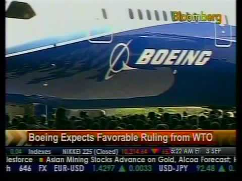 Boeing Expects Favorable Ruling From WTO - Bloomberg