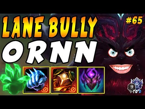 ULTIMATE Tank Bully - Ornn Top With Frozen Fist & Forgefire Cape | Iron IV To Diamond Ep #65