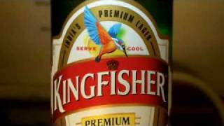 Beer Review: Kingfisher Lager, 2 Min. Beer Reviews #9. Beer tasting of Beer from around the world.