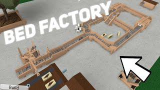 Bed Factory! Roblox Factory Town Tycoon