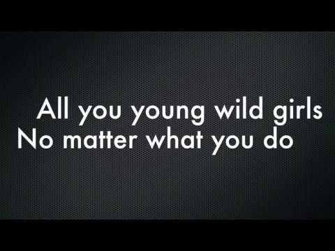 Bruno Mars- Young Girls Lyrics