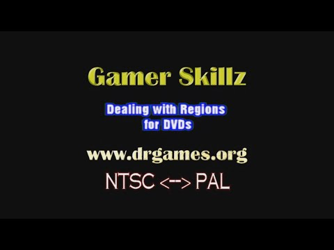 PAL To NTSC - FREE Methods For Quickly Fixing Or Converting (Gamer Skillz)
